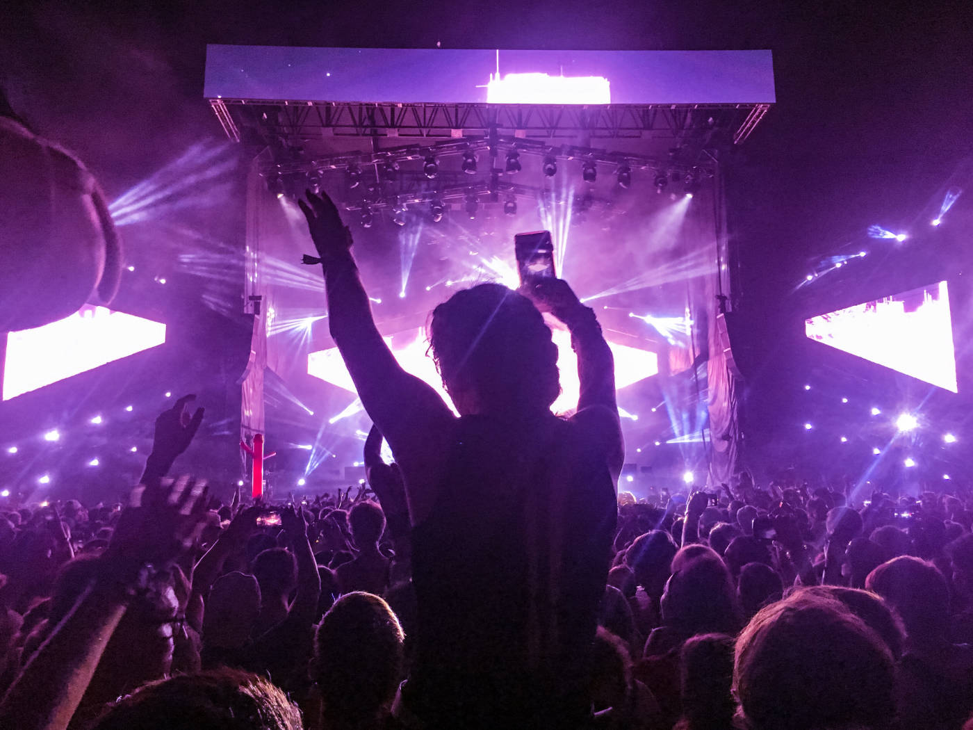 Led scherm op je festival!